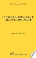 La création romanesque chez Williams Sassine