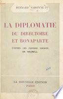 La diplomatie du Directoire et Bonaparte