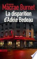 La Disparition d'Adèle Bedeau