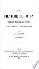La filature de coton dans le nord de la France