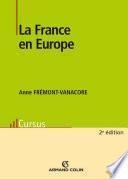 La France en Europe