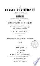 La France pontificale (Gallia Christiana)
