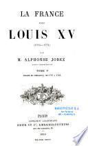 La France sous Louis XV (1715-1774)