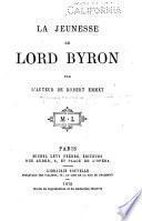 La jeunesse de Lord Byron