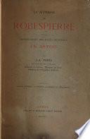 La jeunesse de Robespierre et la convocation des États généraux en Artois