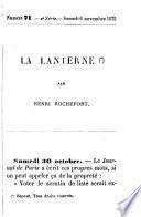 La Lanterne, par H. Rochefort