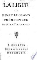 La Ligue ou Henry le grand