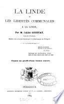 La Linde et les libertés communales à La Linde