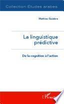 La linguistique prédictive