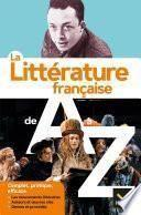 La littérature de A à Z (nouvelle édition)