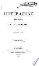 La littérature française de la jeunesse