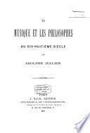 La musique et les philosophes au dix-huitième siècle