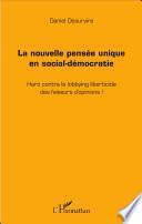 La nouvelle pensée unique en social-démocratie