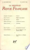 La Nouvelle Revue Française n° 201 (Septembre 1969)