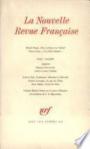 La Nouvelle Revue Française N° 224