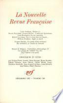 La Nouvelle Revue Française N° 240