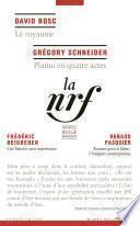La Nouvelle Revue Française N° 619 (Juillet 2016)