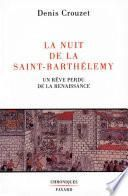 La Nuit de la Saint-Barthélemy