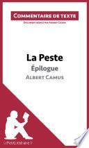 La Peste de Camus - Épilogue