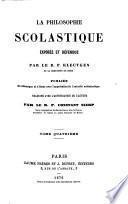 La Philosophie Scolastique exposée et défendue ... Traduite ... par ... Constant Sierp