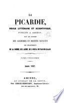 La Picardie, revue historique, archéologique & littéraire