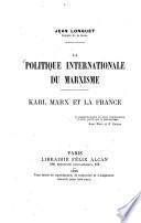 La politique internationale du marxisme