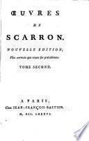 La premiere et seconde partie di Roman comique