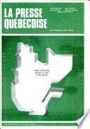 La presse québécoise