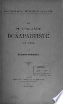 La propagande Bonapartiste en 1848