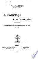 La psychologie de la conversion