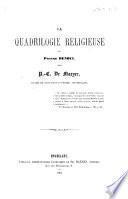 La Quadrilogie religieuse de P. Benoît