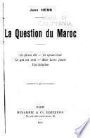 La question du Maroc