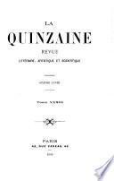 La Quinzaine