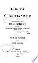 La raison du christianisme