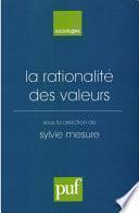 La rationalité des valeurs