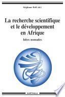 La recherche scientifique et le développement en Afrique