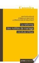 La réforme des nullités de mariage