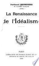 La renaissance de l'idéalisme