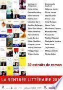 La rentrée littéraire 2012 - 32 extraits de roman