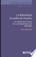 La République en quête de citoyens