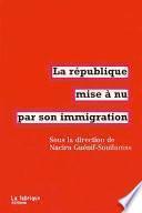 La république mise à nu par son immigration