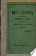 La résurrection dans le système de la régénération du monde