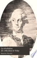 La révolution de 1789 dans le Velay