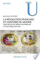La Révolution française et l'histoire du monde