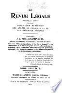 La Revue legale
