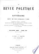 ¬La Revue politique et littéraire0