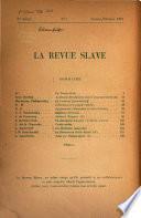 La Revue slave