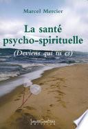 La santé psycho-spirituelle