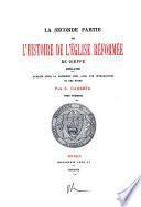 La seconde partie de l'Histoire de l'église réformée de Dieppe, 1660-1685