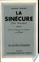 LA SINECURE Par ANTHONY TROLLOPE